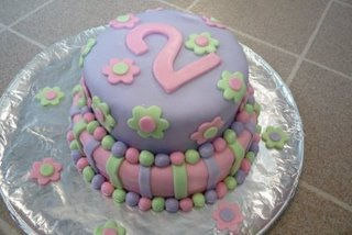 Marshmellow Fondant Cake