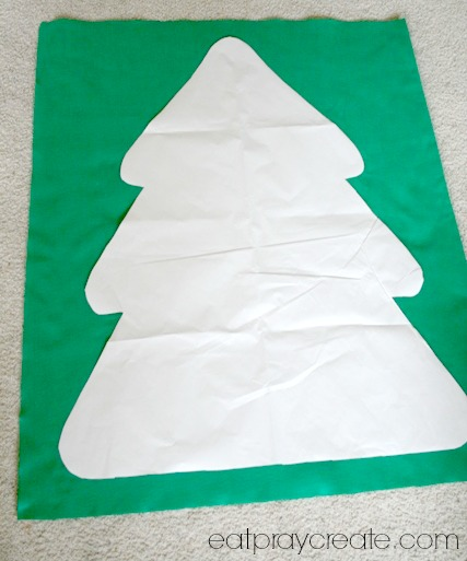 Felt Christmas Tree Advent Calendar Tutorial- Part 2 - Eat Pray Create