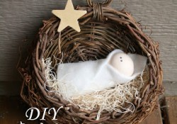 DIY Baby Jesus Nativity