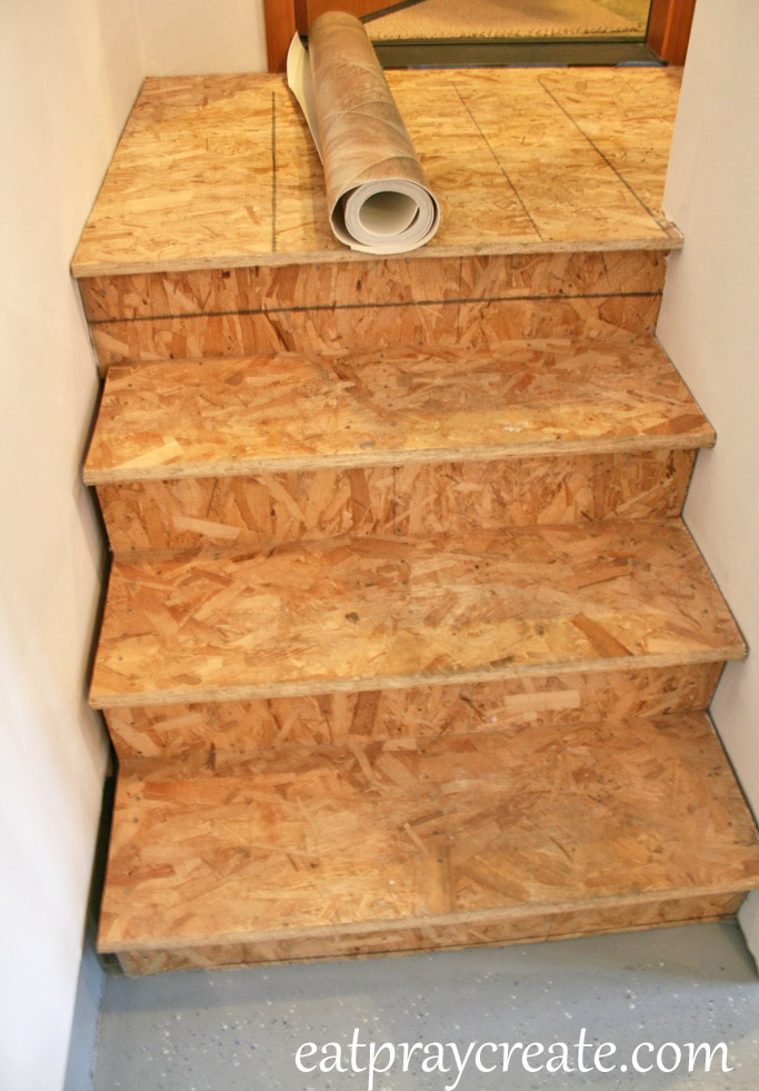 Wanna Cover Your Unfinished Garage Stairs Too? Here Is What Youu0027ll Needu2026