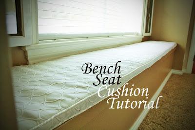 Bench Seat Cushion A Diy Tutorial Eat Pray Create