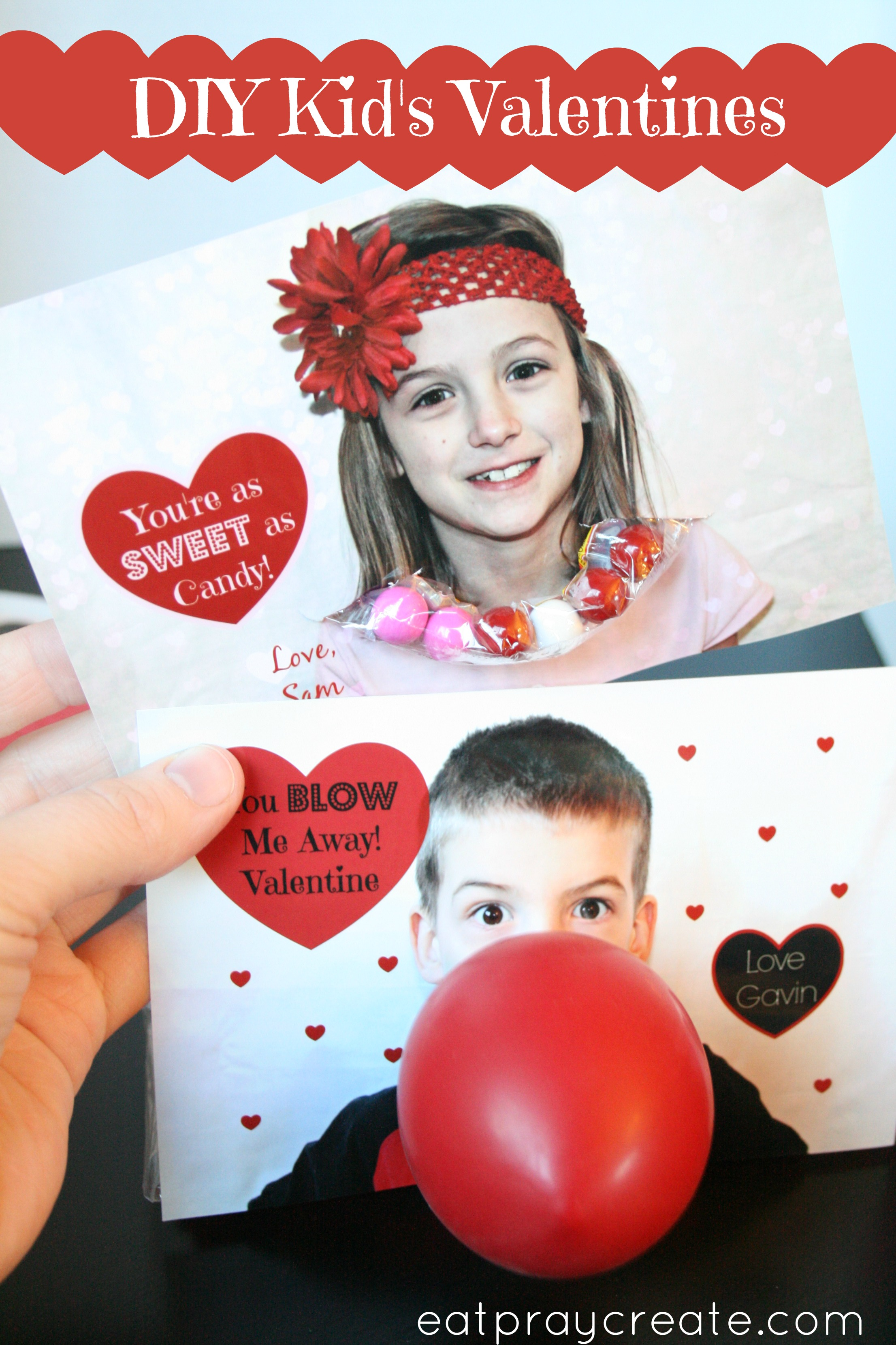 Valentines Day Cards for Kids – Eat
