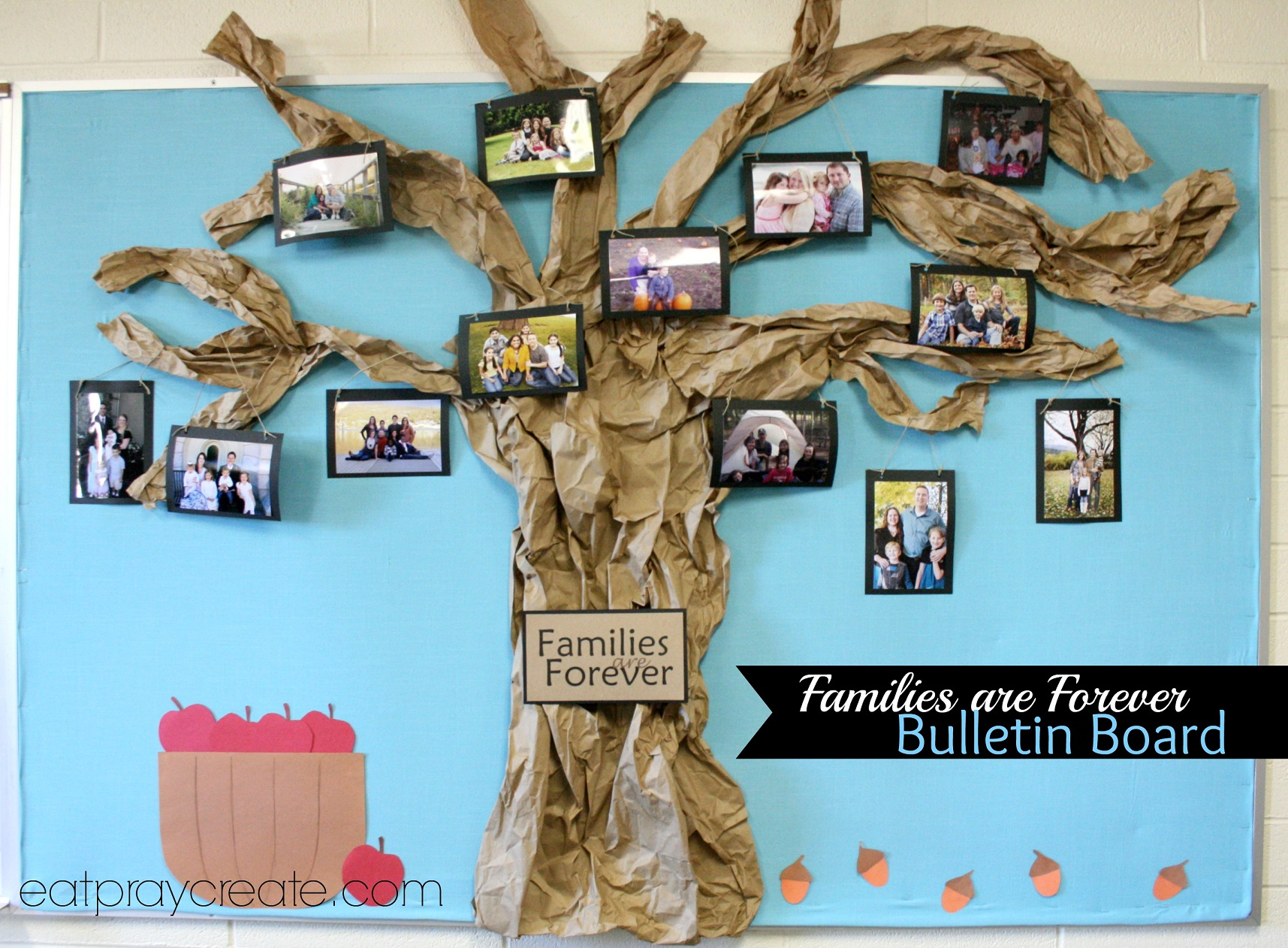 Families Are Forever Primary Bulletin Board Idea Eat