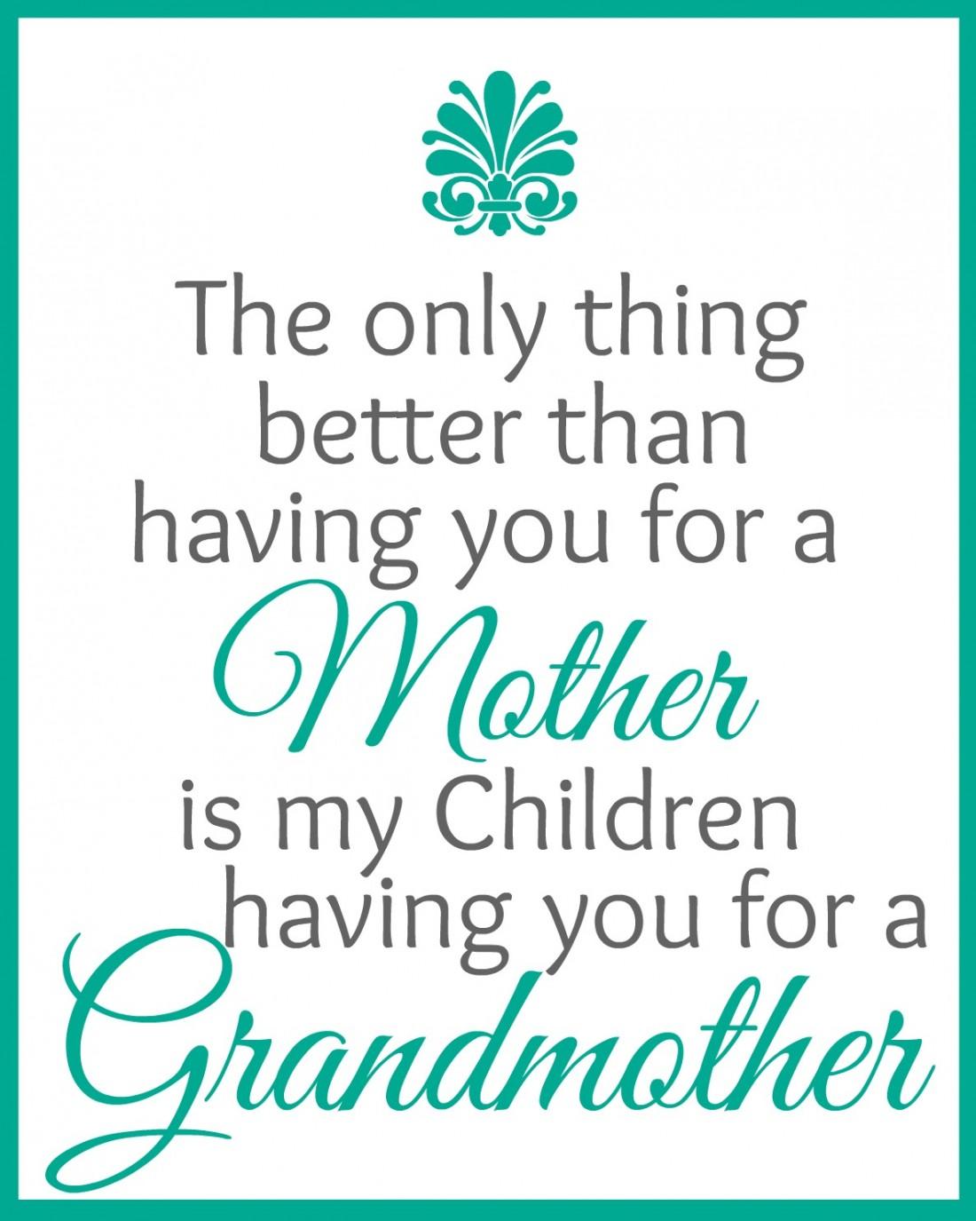 Grandmother Print