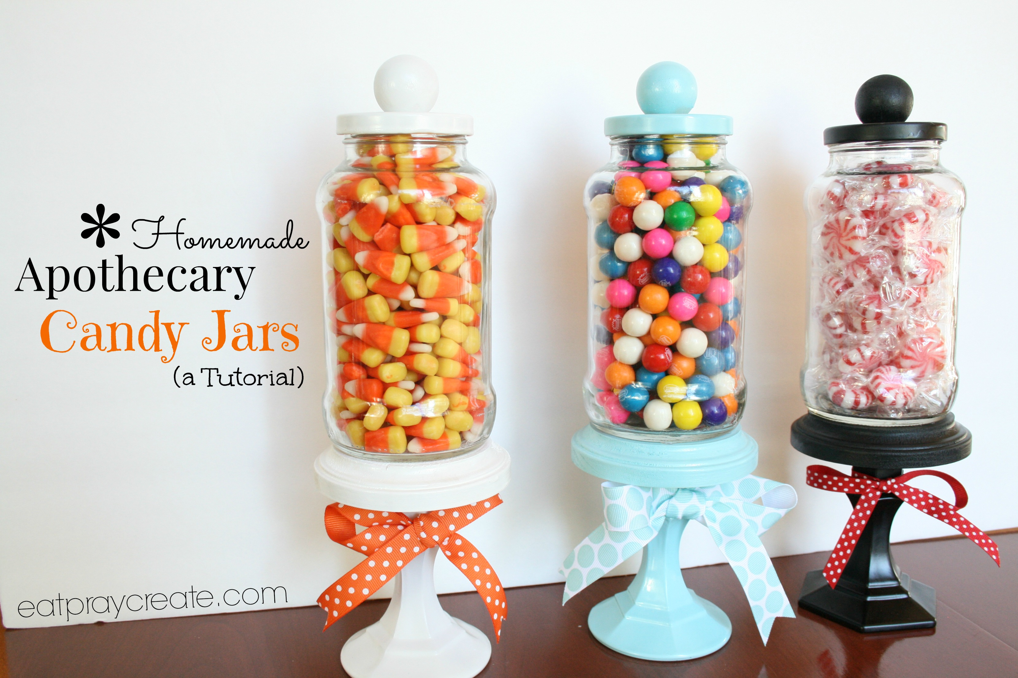 Diy Apothecary Candy Jar Decoration A Tutorial Eat Pray Create