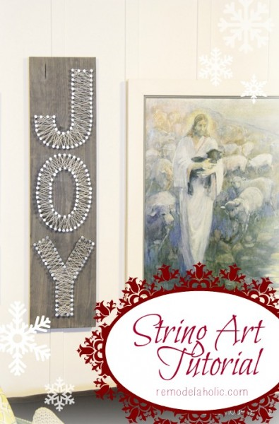 String-Art-Tutorial-Joy-Sign-Christmas-art-@remodelaholic-christmas-art-395x600
