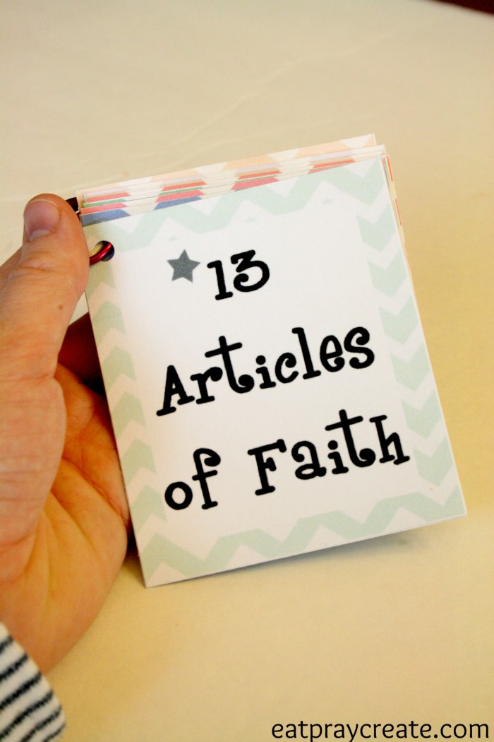 Articles of Faith 10