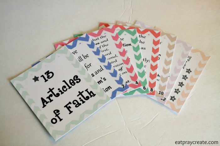 Articles of Faith 4
