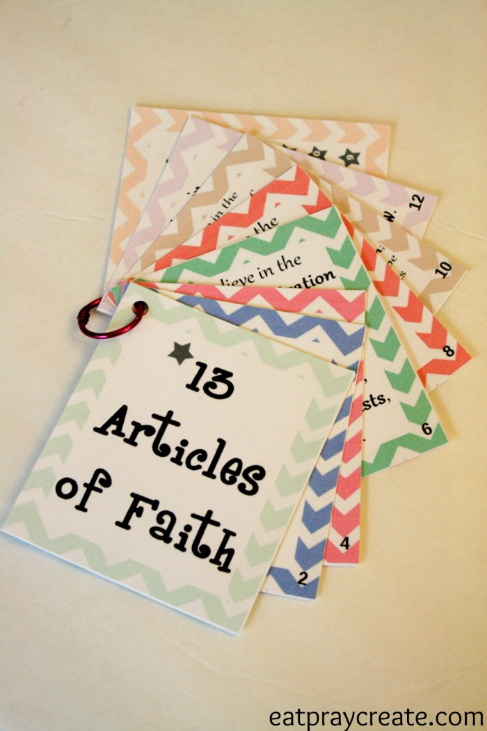 Articles of Faith 6