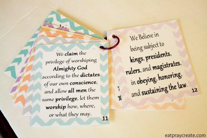 Articles of Faith 9