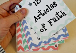 Articles of Faith Cards