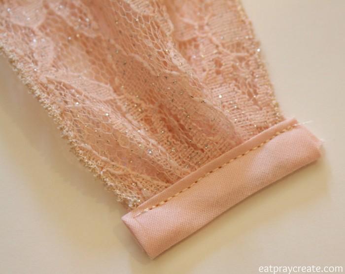 Adding dress straps