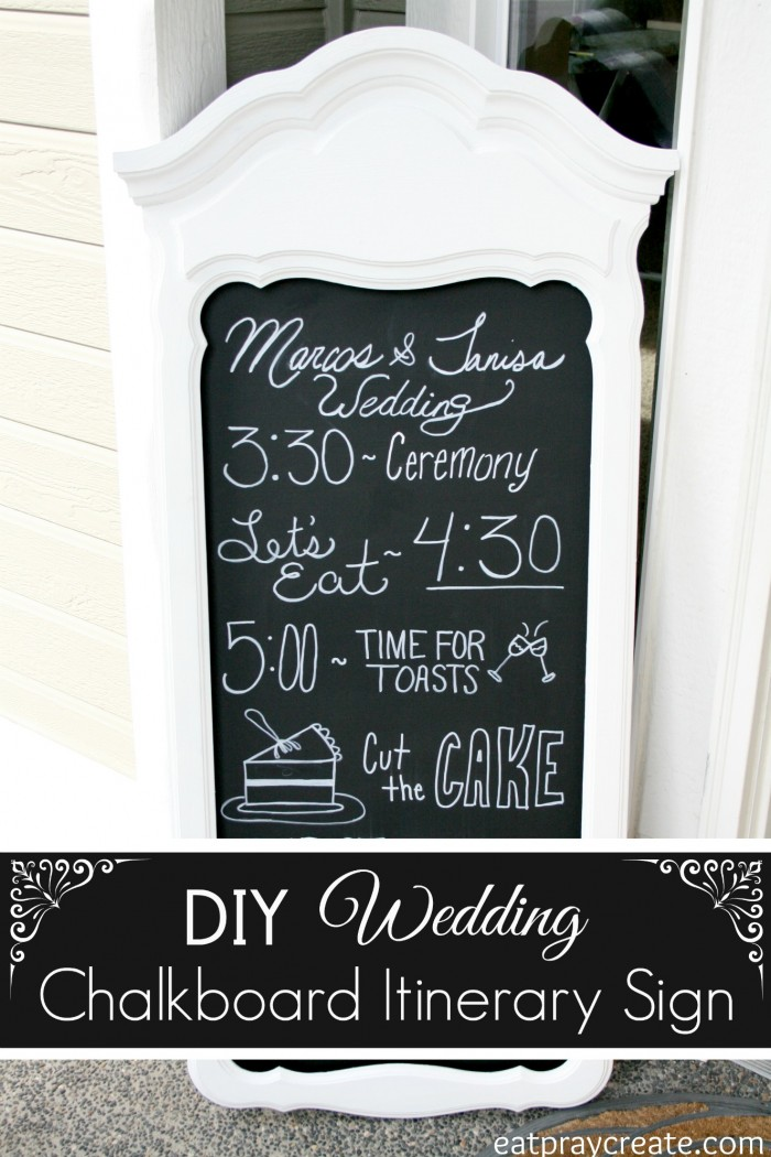 Wedding Chalkboard 2a