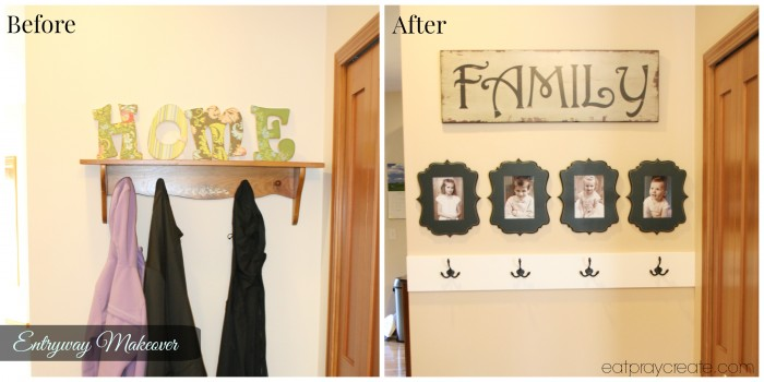 Entryway Makeover 1