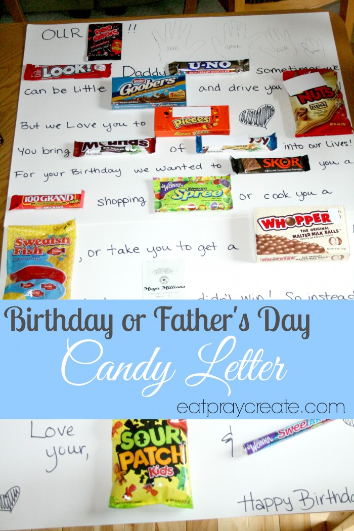 Candy Letter