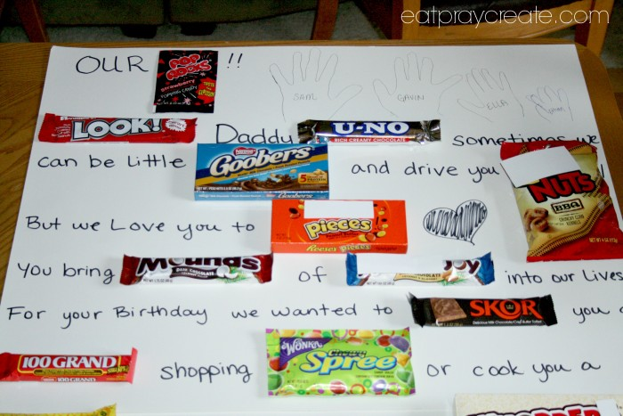 Candy Letter Part 1