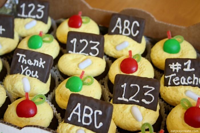 Teacher Cupcakes 12a