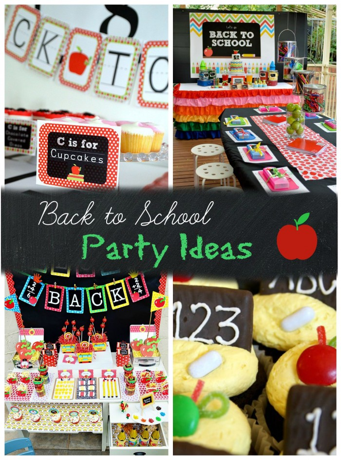 Back to School Party Ideas
