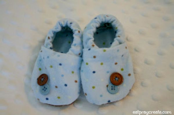 Boy Polka Dot Baby Shoes