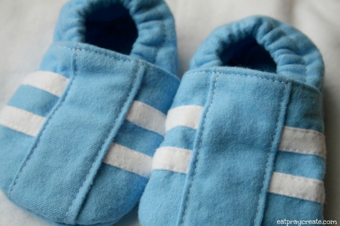 Boy Stripe Baby Shoes 2