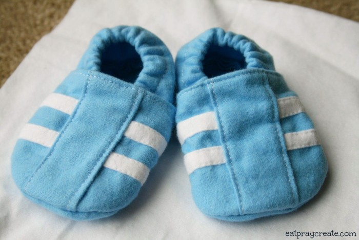 Boy Stripe Baby Shoes