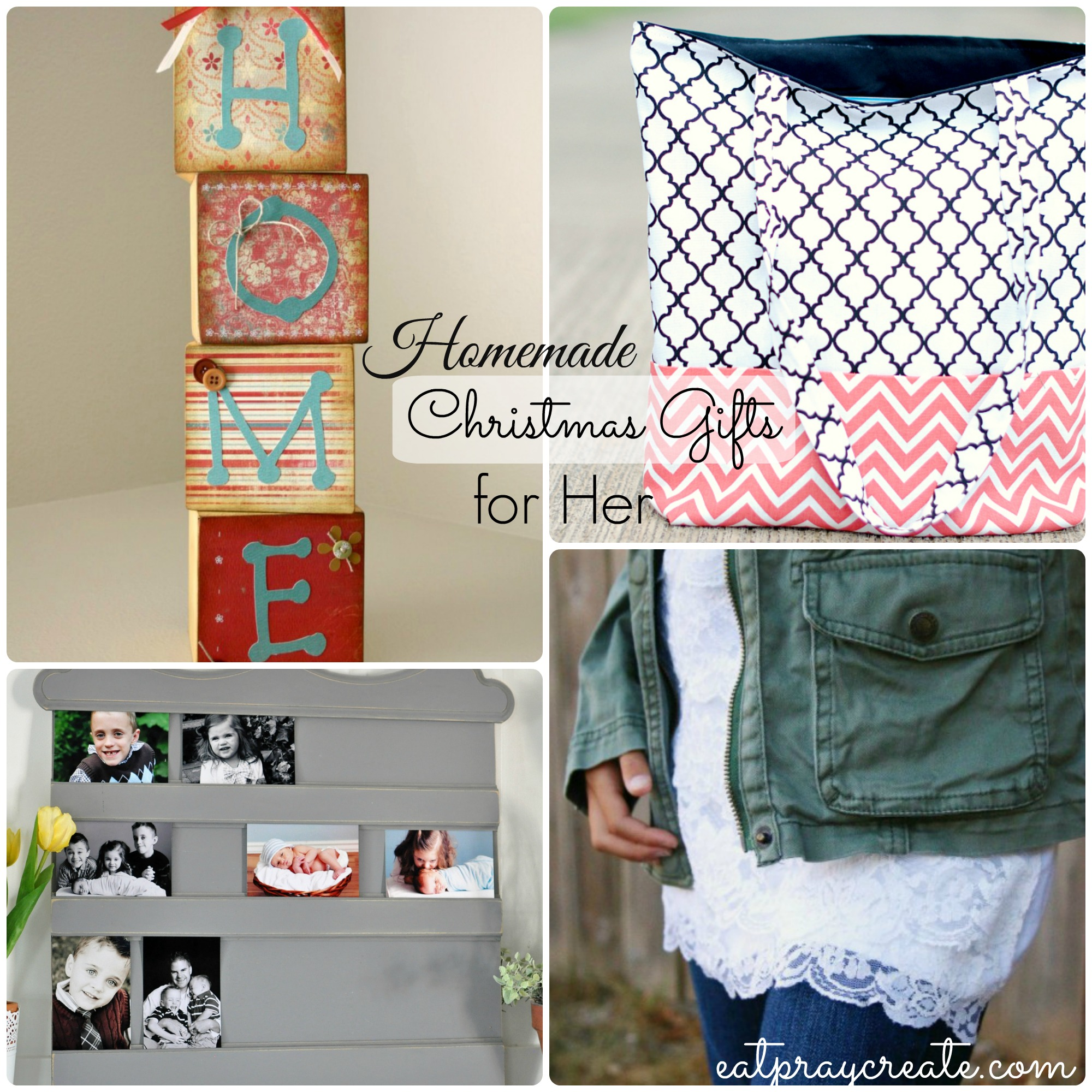 Homemade Christmas Gifts - For Her (Part 4) - Eat Pray Create