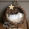 Simple DIY Baby Jesus Nativity – A Christmas Decoration